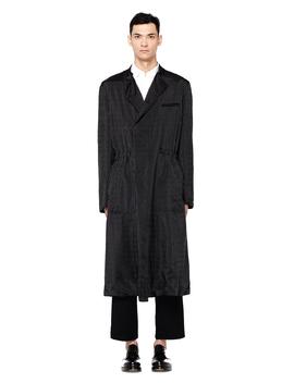Black Striped Coat by Haider Ackermann
