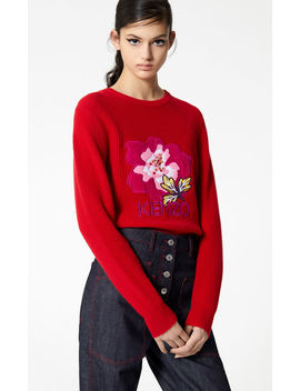 'indonesian Flower' Jumper by Kenzo