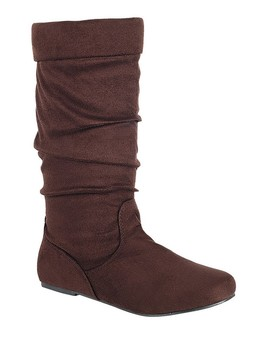 Ladies Fashion Ruched Wedge Boot Is Edgy, Dress Casual And Chic, Knee High Boot, Closed Almond Toe, Micro Wedge Heel Id.34370b by 599 Fashion