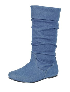 Ladies Fashion Ruched Wedge Boot Is Edgy, Dress Casual And Chic, Knee High Boot, Closed Almond Toe, Micro Wedge Heel Id.34370a by 599 Fashion
