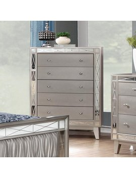 Coaster Furniture Leighton 5 Drawer Chest by Coaster Furniture