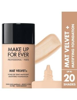 Mat Velvet +                  Matifying Foundation                                 Like                           Like by Make Up Forever