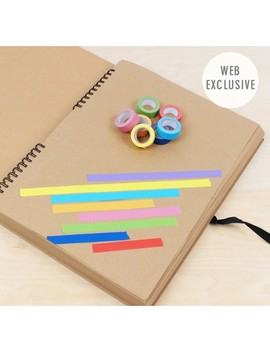A3 Scrapbook & Tape Set by Paperchase