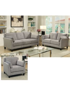 Furniture Of America Galvan 3 Piece Sofa Set by Furniture Of America