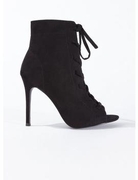 Hazel Lace Up Stiletto Heel Sandals by Miss Selfridge