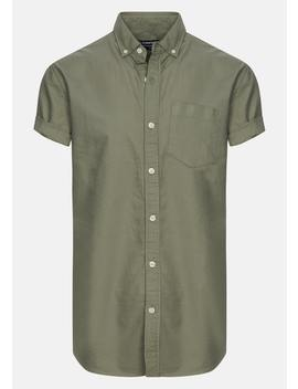 Green Chapson Slim Shirt by Connor
