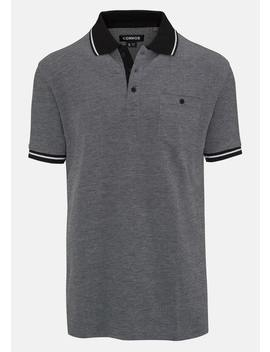 Charcoal Ewarts Polo by Connor