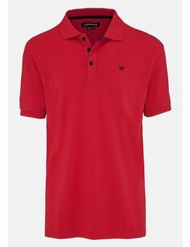 Red Beep Polo by Connor