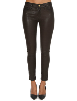 Frame Denim Le Skinny Leather Pant by Frame Denim