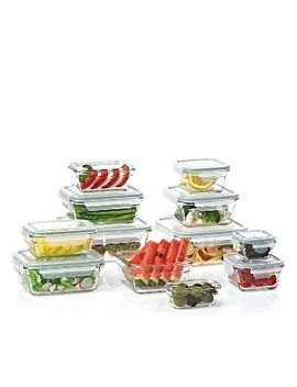 Member's Mark 24 Piece Glass Food Storage Set By Glasslock by Member's Mark