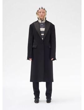 Tuxedo Coat In Cashmere by Celine