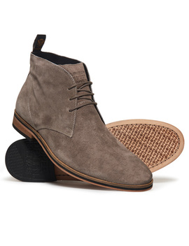 Trenton Sleek Chukka Boots by Superdry