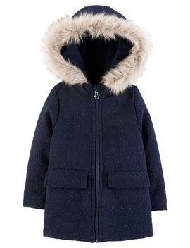 Hooded Wool Jacket by Oshkosh