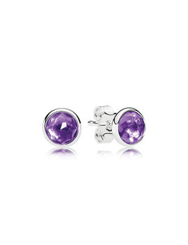 February Droplets, Synthetic Amethyst by Pandora