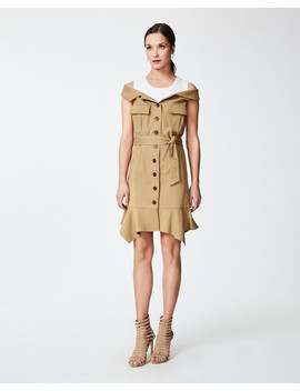 Trench Dress by Nicole Miller