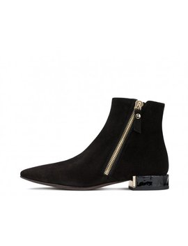 Velour Ankle Boot by Attilio Giusti Leombruni