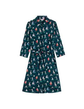 Animal Band Crisp Cotton Shirt Dress by Cath Kidston
