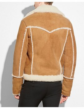 Shearling Lumber Jacket by Coach