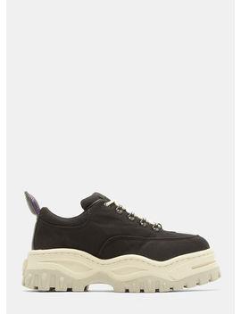Angel Canvas Sneakers In Black by Eytys