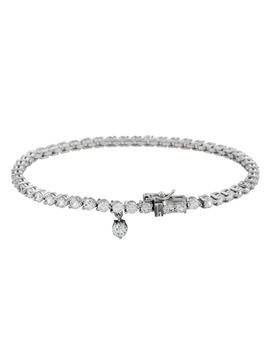 Diamonfire Silver Cubic Zirconia Bracelet by Beaverbrooks