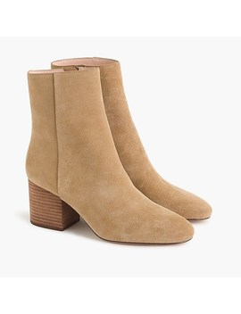 sadie-ankle-boots-in-suede by jcrew