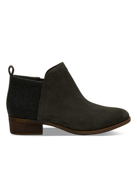 Forest Suede Women's Deia Booties by Toms
