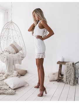 Shayne Dress   White by Born To Be Chic