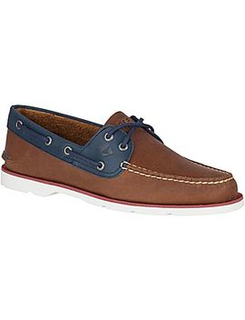 Men's Leeward Nautical Boat Shoe by Sperry