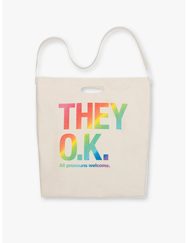 They Okay Tote Bag by American Apparel
