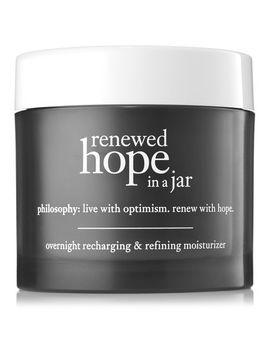 Overnight Recharging & Refining Moisturizer by Renewed Hope In A Jar