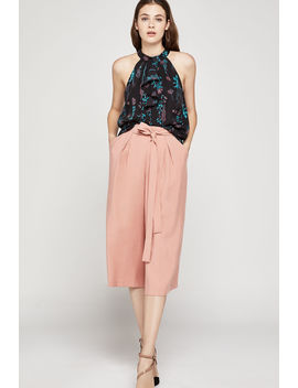 Pleated Culotte Pant by Bcbgeneration