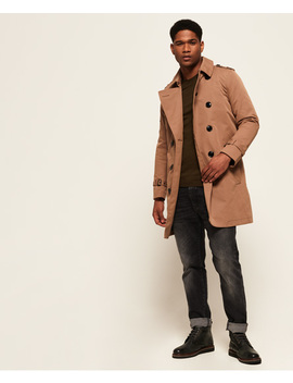 Premium Director Trench Coat by Superdry