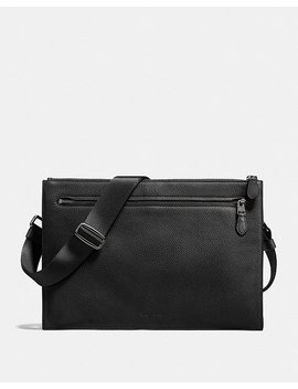 Manhattan Convertible Slim Messenger by Coach