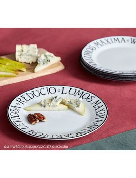 harry-potter-magical-spell-appetizer-plates,-set-of-4 by pottery-barn