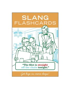 Slang Flashcards by Uncommon Goods