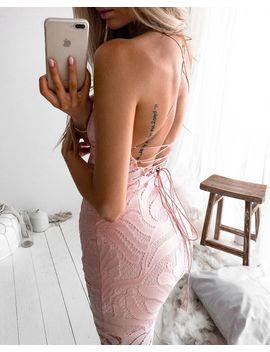 Khaleesi Dress   Blush by Born To Be Chic