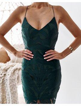 Khaleesi Dress   Emerald by Born To Be Chic