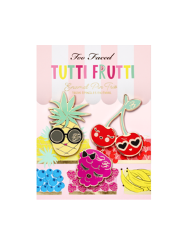 Tutti Frutti Enamel Pin Trio by Too Faced