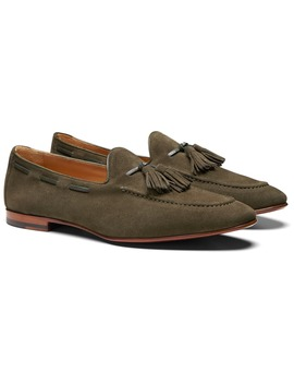 Green Tassel Loafer by Suitsupply