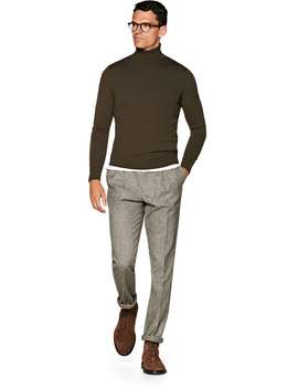 Green Turtleneck by Suitsupply