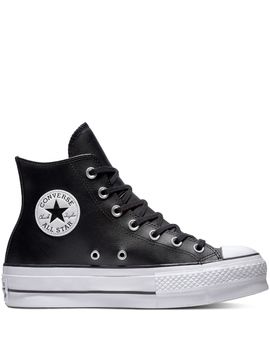 Chuck Taylor All Star Lift Leather High Top by Converse