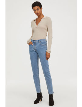high-ankle-jeans by h&m