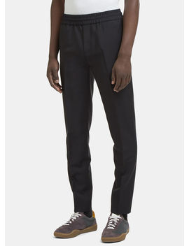 Ryder Elasticated Suiting Pants In Black by Acne Studios