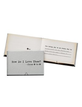 How Do I Love Thee From A Z by Uncommon Goods