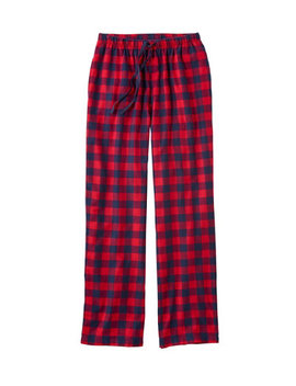 L.L.Bean Flannel Sleep Pants, Plaid by L.L.Bean