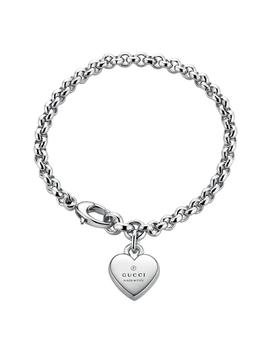 Gucci Silver Trademark Heart Bracelet by Beaverbrooks