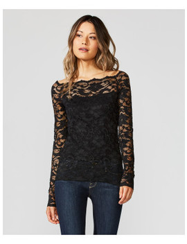 Black Site Lace Top by Bailey44