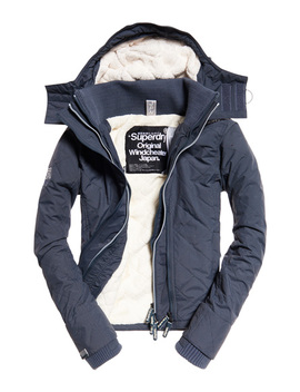 Hooded Sherpa Quilted Sd Windcheater by Superdry