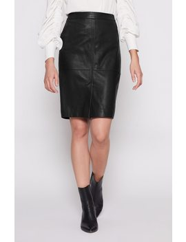Navi Leather Skirt by Joie