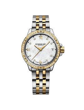 Raymond Weil Tango Diamond Gold Plated Ladies Watch by Beaverbrooks